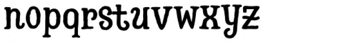 Hatter Halloween Regular Font LOWERCASE