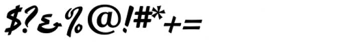 Hauser Script RR Font OTHER CHARS