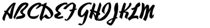 Hauser Script RR Font UPPERCASE