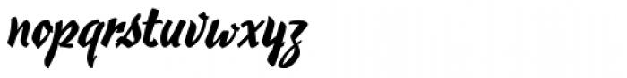 Hauser Script RR Font LOWERCASE