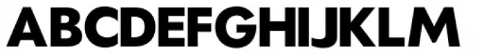 Hauslan Extra Bold Font UPPERCASE