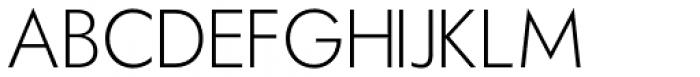 Hauslan Extra Light Font UPPERCASE