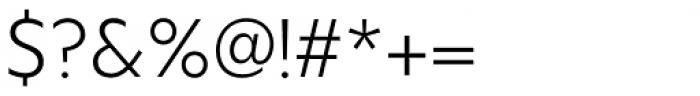 Hauslan Light Font OTHER CHARS