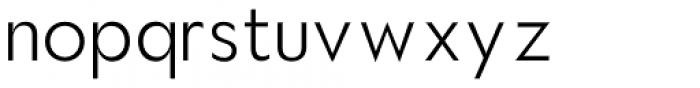 Hauslan Light Font LOWERCASE