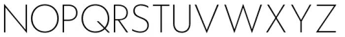 Hauslan Thin Font UPPERCASE