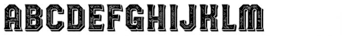 Havard Shadow Rough Font UPPERCASE