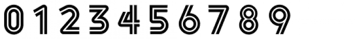 Havelock Complete Inline Font OTHER CHARS