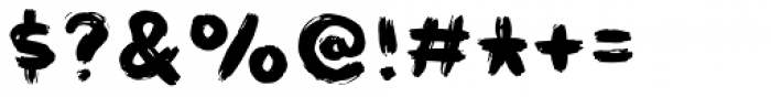 Havregryn Sans 2 Font OTHER CHARS