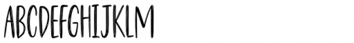 Havregryn Sans Font LOWERCASE
