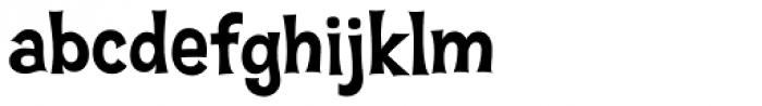 Hawaiian Aloha BTN Bold Font LOWERCASE