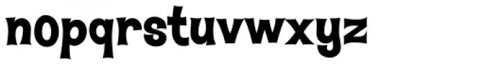 Hawaiian Aloha BTN ExtraBold Font LOWERCASE