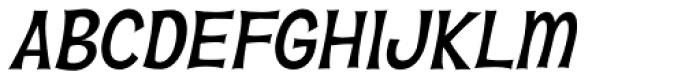 Hawaiian Aloha BTN Oblique Font UPPERCASE