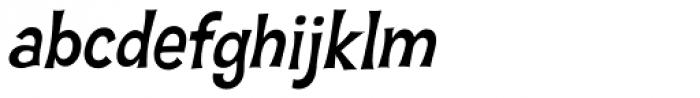 Hawaiian Aloha BTN Oblique Font LOWERCASE