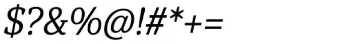 Hawking Light Italic Font OTHER CHARS