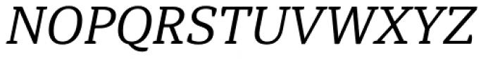 Hawking Light Italic Font UPPERCASE
