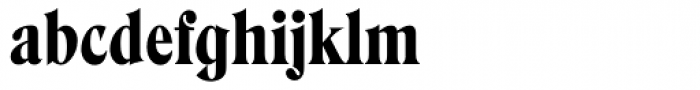 Hawthorn Font LOWERCASE