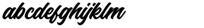 Haydes Regular Font LOWERCASE