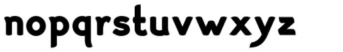Haymer Black Font LOWERCASE
