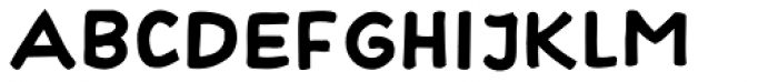 Hayne Sans Bold Multiple Font LOWERCASE