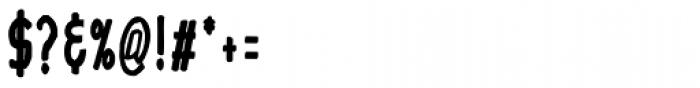 Hayne Sans Condensed Bold Multiple Font OTHER CHARS