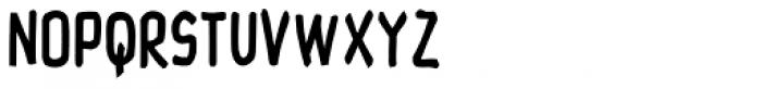 Hayne Sans Condensed Bold Multiple Font LOWERCASE