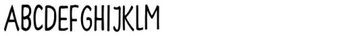 Hayne Sans Condensed Multiple Font LOWERCASE