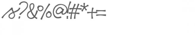 haiku script font Font OTHER CHARS