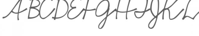 haiku script font Font UPPERCASE