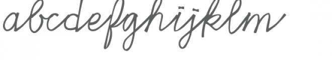 haiku script font Font LOWERCASE