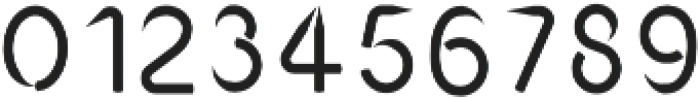 HBPencil Regular otf (400) Font OTHER CHARS