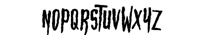 HBM Wonky Ron Font UPPERCASE