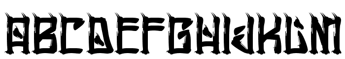 HChingon-Regular Font UPPERCASE