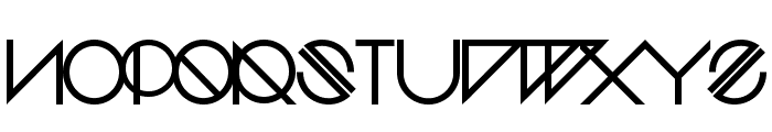 HDreamwave-Regular Font UPPERCASE