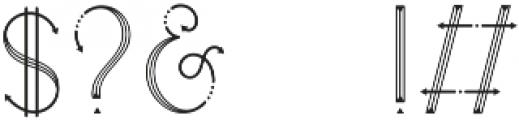 HEATHER Regular ttf (400) Font OTHER CHARS