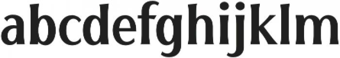 HENAVE otf (400) Font LOWERCASE