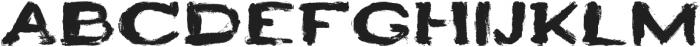 HEYRO otf (400) Font UPPERCASE