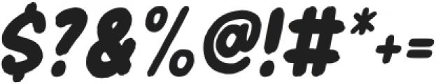 Header Marker Italic otf (400) Font OTHER CHARS