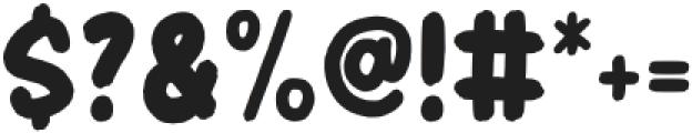 HeaderMarker otf (400) Font OTHER CHARS