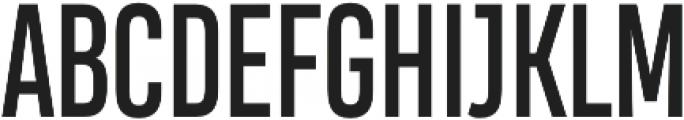 Heading Compressed Pro otf (400) Font UPPERCASE