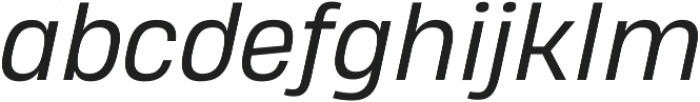 Heading Pro Double Book Italic otf (400) Font LOWERCASE