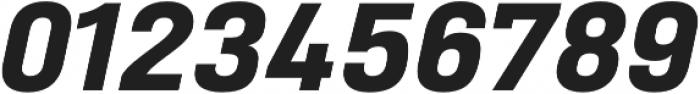 Heading Pro Double ExtraBold Italic otf (700) Font OTHER CHARS
