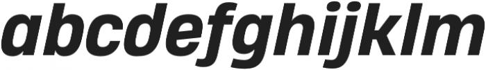 Heading Pro Double ExtraBold Italic otf (700) Font LOWERCASE