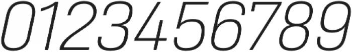 Heading Pro Double ExtraLight Italic otf (200) Font OTHER CHARS