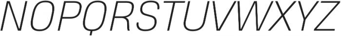 Heading Pro Double ExtraLight Italic otf (200) Font UPPERCASE