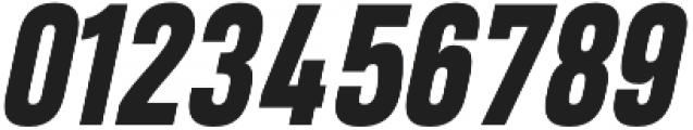Heading Pro ExtraBold Italic otf (700) Font OTHER CHARS