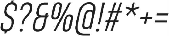 Heading Pro Light Italic otf (300) Font OTHER CHARS