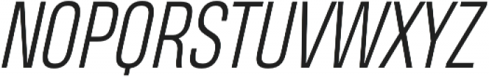 Heading Pro Light Italic otf (300) Font UPPERCASE