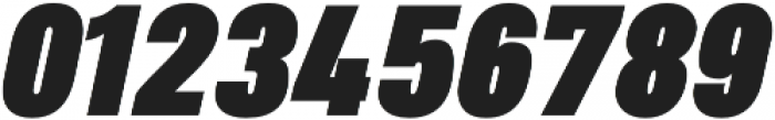 Heading Pro Medium Black Italic otf (500) Font OTHER CHARS