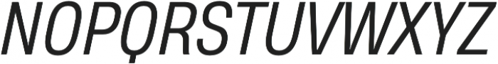 Heading Pro Medium Book Italic otf (400) Font UPPERCASE