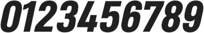 Heading Pro Medium ExtraBold Italic otf (500) Font OTHER CHARS